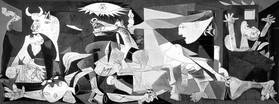 مختارات: زهرة زيرازي - المغرب  جدارية جرنيكا لبيكاسو Guernica_picasso